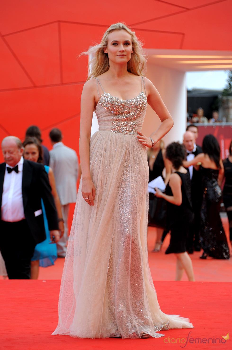 Diane Kruger llega a la alfombra roja del Festival de Cine de Venecia