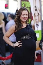 La actriz Alyssa Milano, embarazada