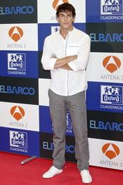 Mario Casas en el estreno de la segunda temporada de 'El Barco' en Madrid