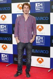 Iván Massague en el estreno de la segunda temporada de 'El Barco' en Madrid