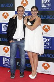 Luis Callejo y Neus Sanz en el estreno de la segunda temporada de 'El Barco' en Madrid