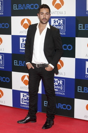 David Seijo en el estreno de la segunda temporada de 'El Barco' en Madrid