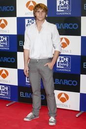 Bernabé Fernández en el estreno de la segunda temporada de 'El Barco' en Madrid