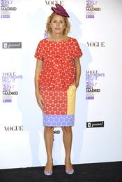Agatha Ruiz de la Prada durante la Vogue Fashion Night Out Madrid 2011