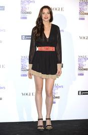 Dafne Fernández durante la Vogue Fashion Night Out Madrid 2011