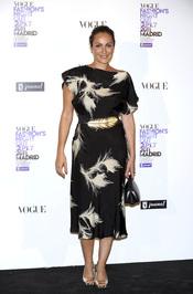 Ana Milán durante la Vogue Fashion Night Out Madrid 2011