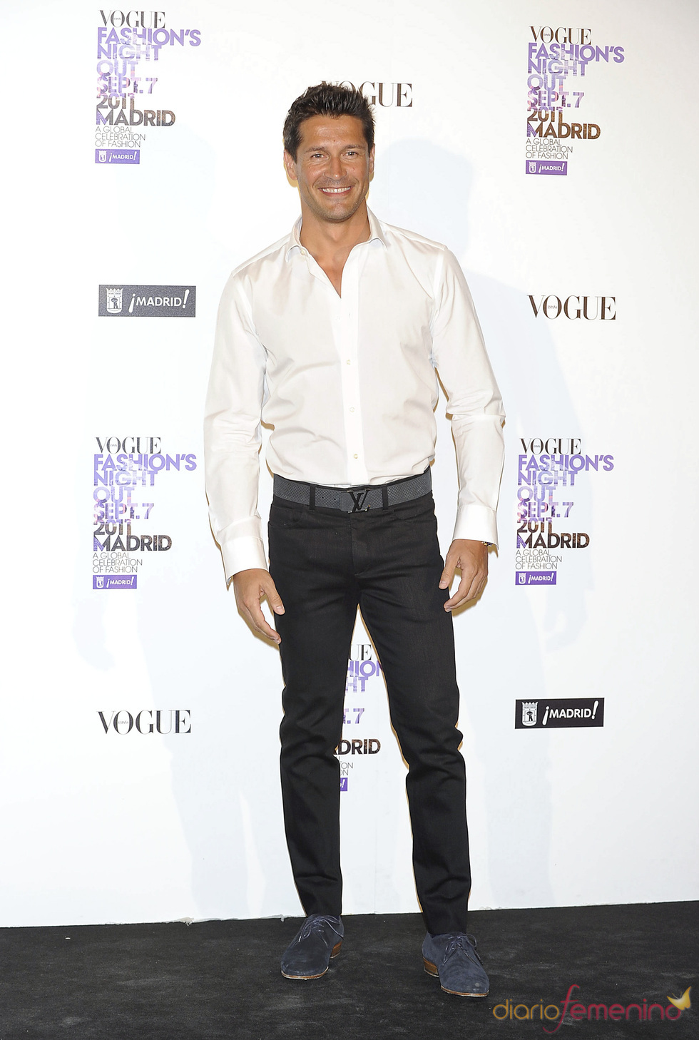 Jaime Cantizano durante la Vogue Fashion Night Out Madrid 2011