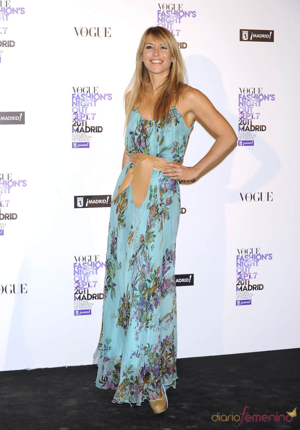 Raquel Meroño durante la Vogue Fashion Night Out Madrid 2011