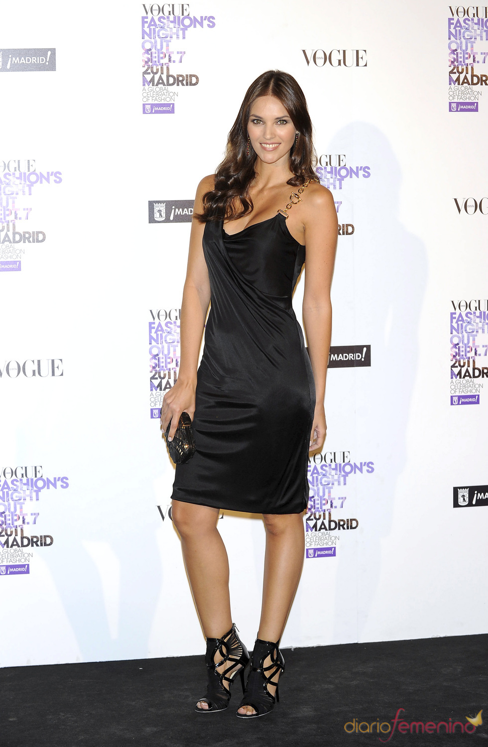 Helen Lindes durante la Vogue Fashion Night Out Madrid 2011