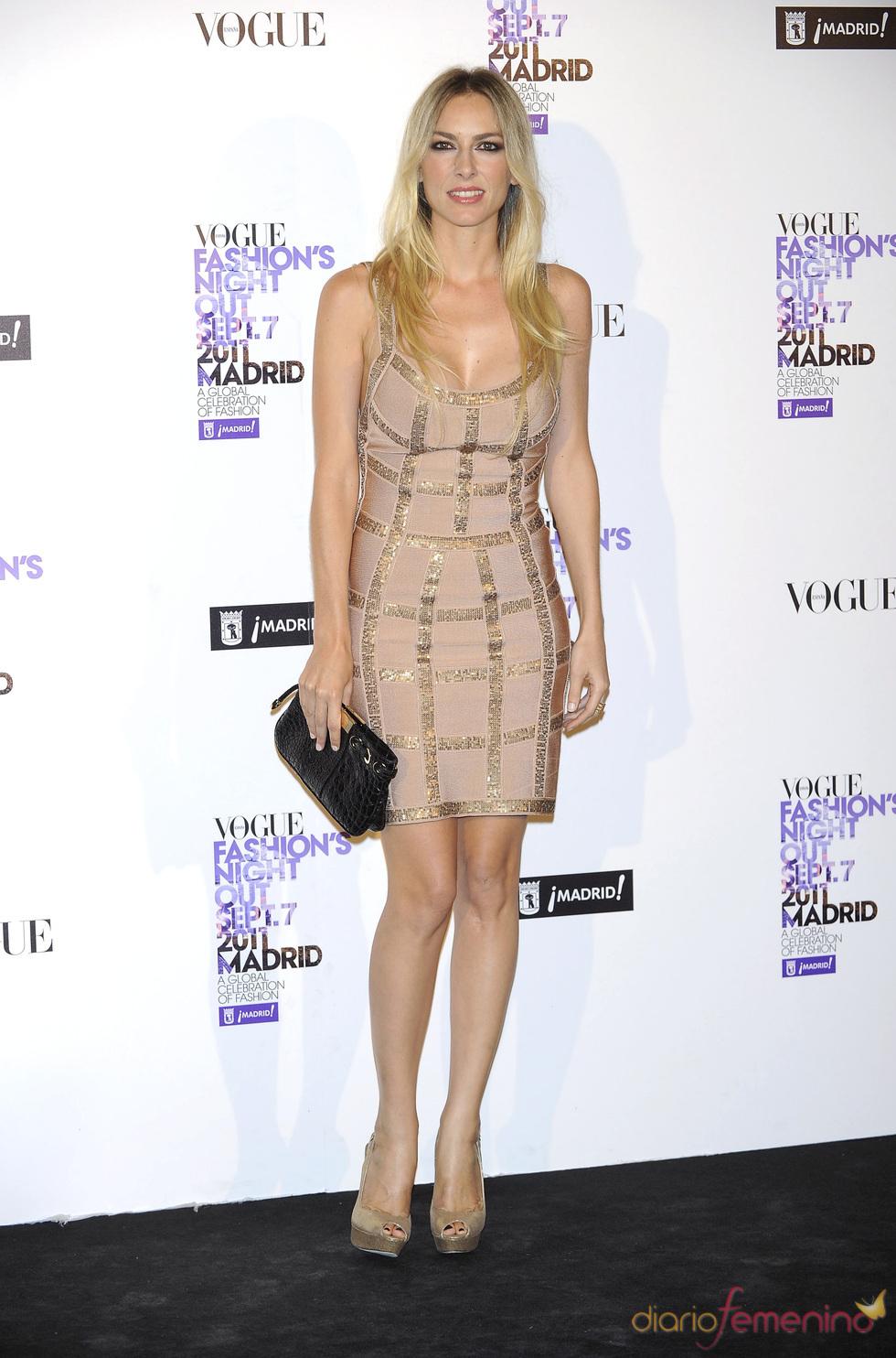 Kira Miró durante la Vogue Fashion Night Out Madrid 2011