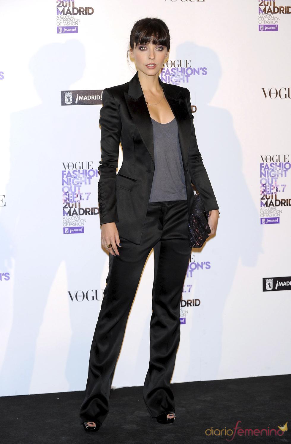 Leticia Dolera durante la Vogue Fashion Night Out Madrid 2011