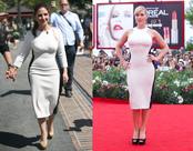 Kate Winslet y Gloria Estefan con el mismo vestido