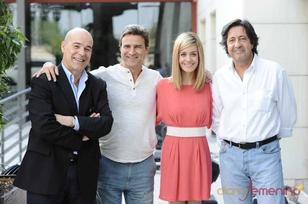 Antonio Resines, Alberto San Juan y Alexandra Jiménez protagonizan el remake de 'Cheers'