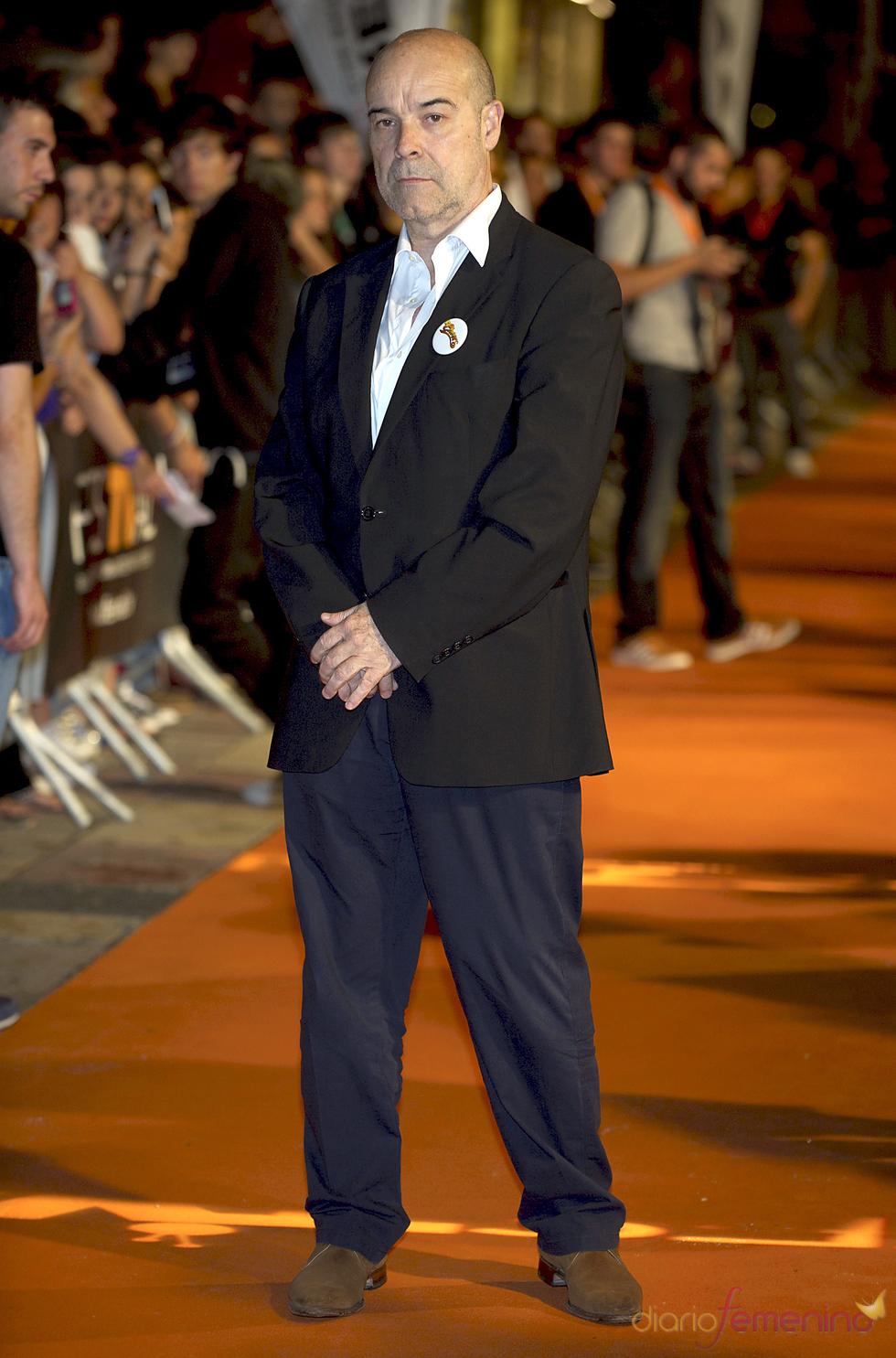 Antonio Resines en el estreno de 'Cheers' en Madrid