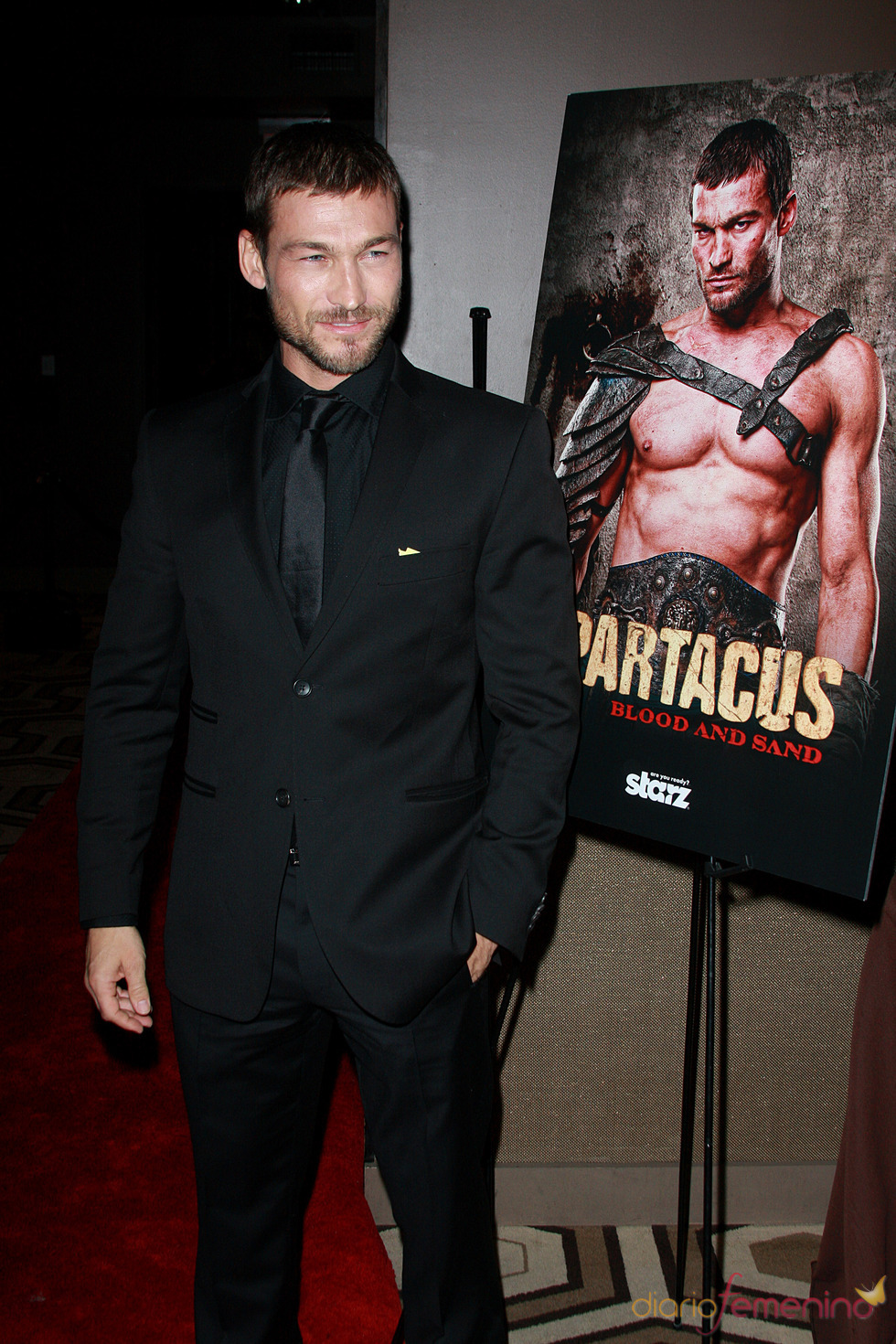 Andy Whitfield, actor de Spartacus, muere a los 39 años
