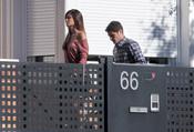Sara Carbonero e Iker Casillas entran en su casa para evitar a la prensa