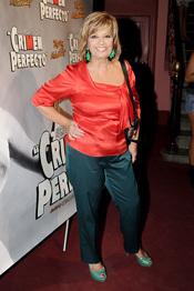 María Teresa Campos en el estreno de 'Crimen perfecto' en Madrid