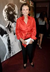 La condesa de Romanones en el estreno de 'Crimen perfecto' en Madrid