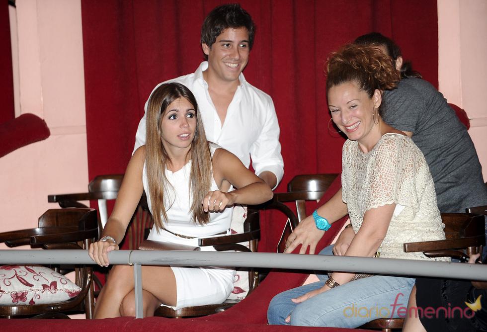 Elena Furiase y Leo Perugorria en el estreno de 'Crimen perfecto' en Madrid