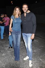 Borja Thyssen y Blanca Cuesta en en concierto de Maná en Madrid