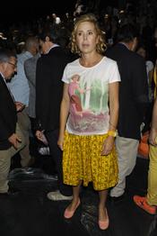 Agatha Ruiz de la Prada en la Pasarela Cibeles 2011 en Madrid