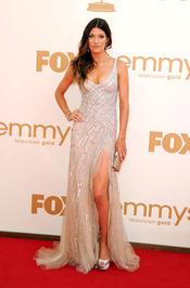 Jennifer Carpenter en la alfombra roja de los Emmy 2011