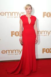 Kate Winslet en la alfombra roja de los Emmy 2011