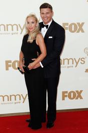 David Boreanaz en la alfombra roja de los Emmy 2011