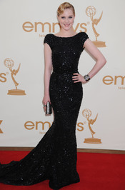 Rachel Evan Wood en la alfombra roja de los Emmy 2011