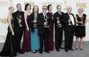 Reparto de 'Downton Abbey' en los Emmy 2011