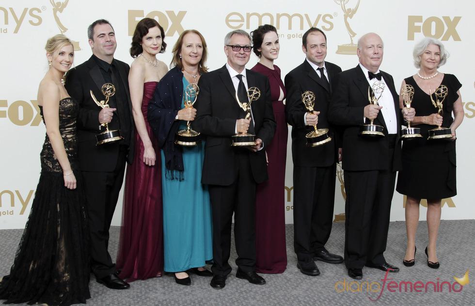 Reparto de 'Downton Abbey' en los Emmy 2011