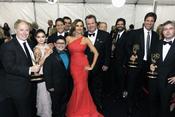 Reparto de 'Modern Family' en los Emmy 2011