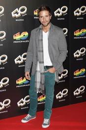 Pablo Alborán en la inauguración del '40 Café' en Madrid