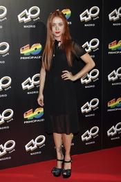 Miranda Makaroff en la inauguración del '40 Café' en Madrid