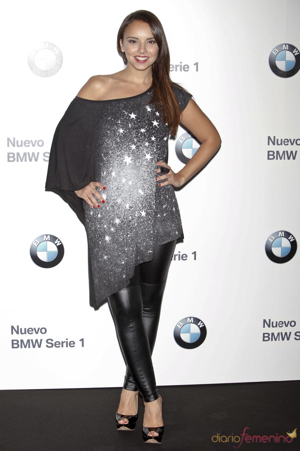 Chenoa en el concierto de Alejandro Sanz para BMW en Madrid