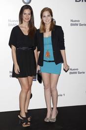 Lidia San José y Natalia Sánchez en el concierto de Alejandro Sanz para BMW en Madrid