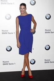 Laura Sánchez en el concierto de Alejandro Sanz para BMW en Madrid