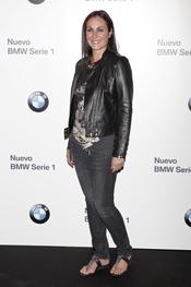 Ana Milán en el concierto de Alejandro Sanz para BMW en Madrid