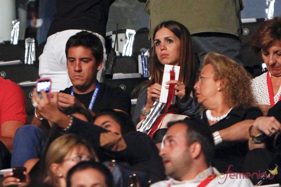 Elena Furiase y Leo Perugorria en el concierto de Alejandro Sanz para BMW en Madrid