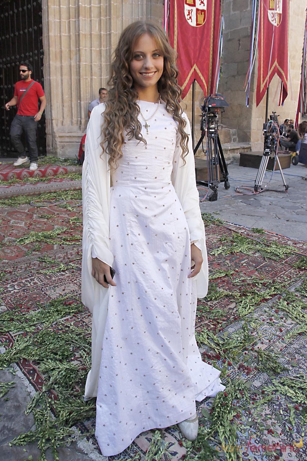 Michelle Jenner como Isabel la Católica