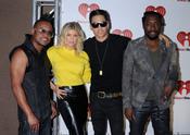 Fergie con los Blak Eyed Peas en el iHeartRadio Music Festival