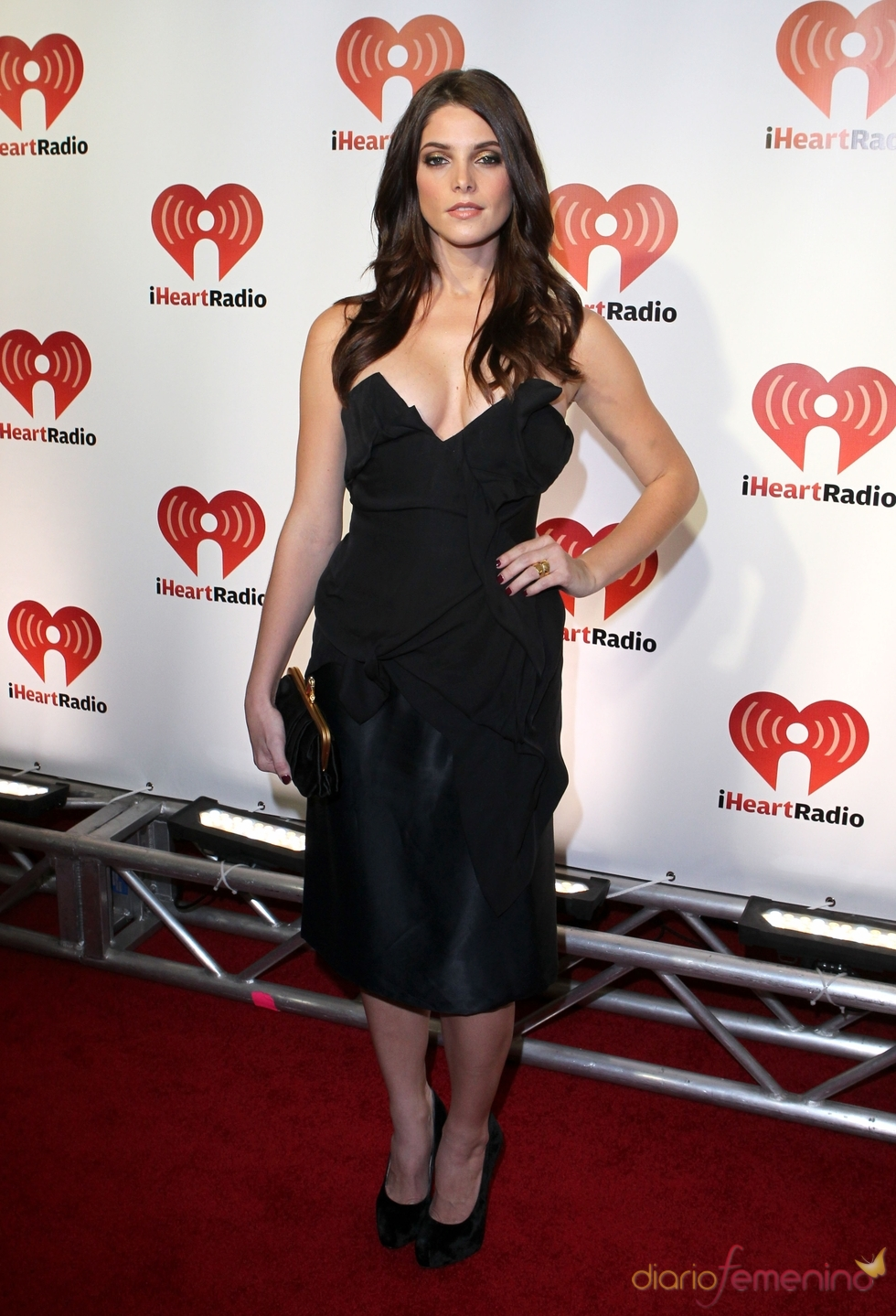 Ashley Greene en el iHeartRadio Music Festival