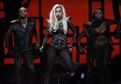 Lady Gaga actúa en el iHeartRadio Music Festival