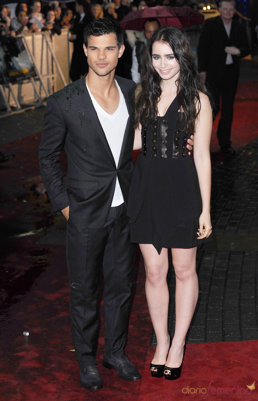 Taylor Lautner y Lilly Collins estrenan 'Abduction'
