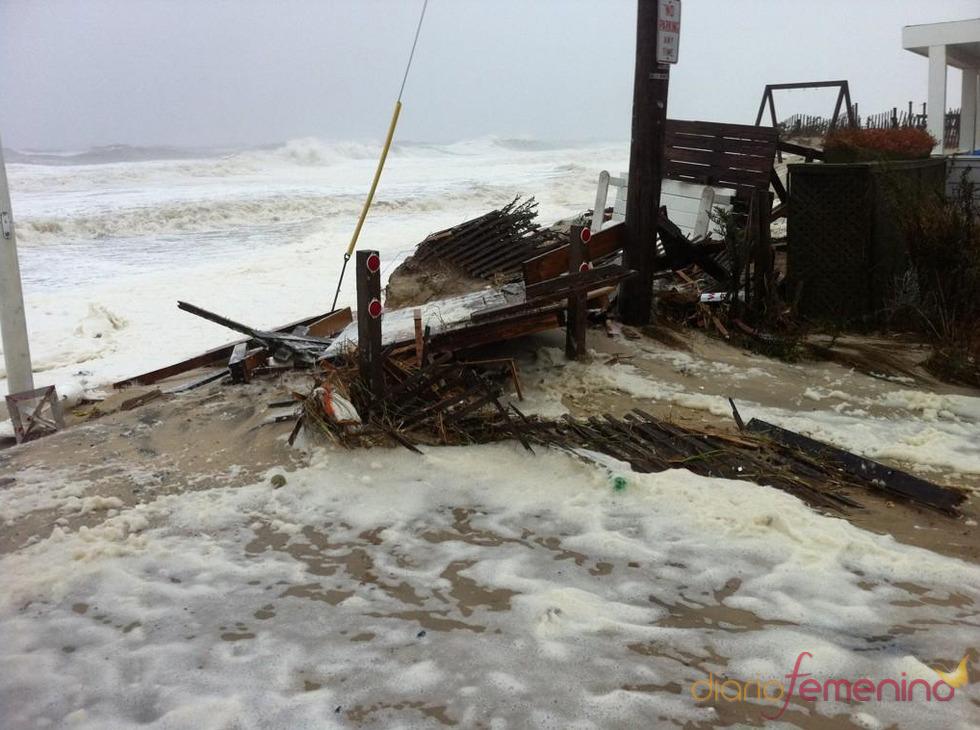 La amenaza del huracán Sandy