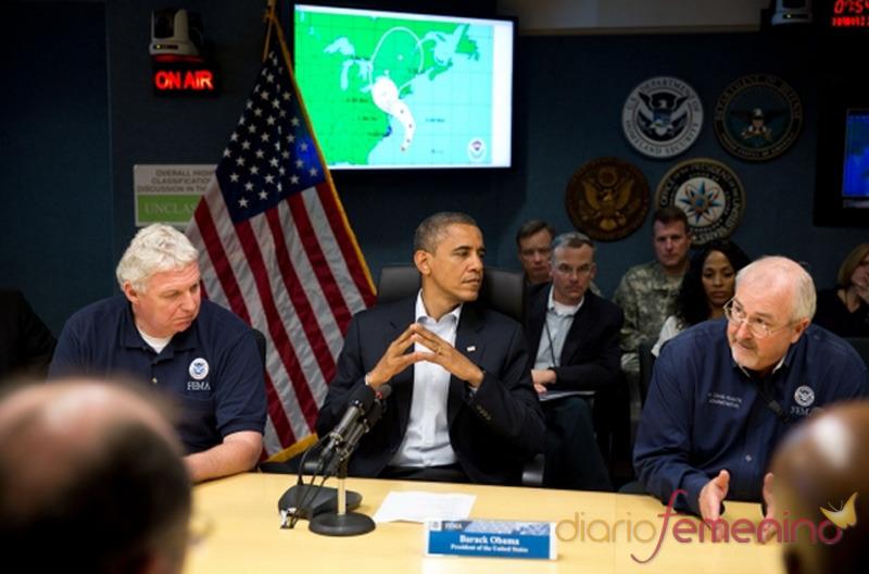 Obama administra la crisis del huracán Sandy