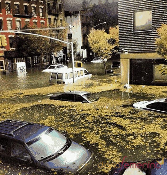 East Village de Nueva York inundado por el huracán Sandy