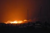 Sandy causa incendios e inundaciones en Queens Nueva York