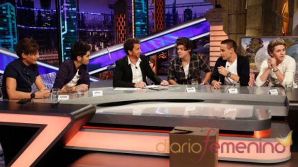 One Direction en El Hormiguero: charlando con Pablo Motos