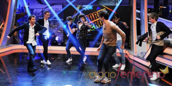 One Direction el El Hormiguero: bailando con Marron